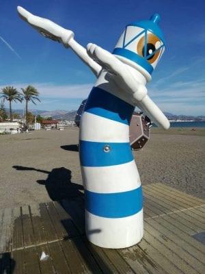torre del mar ducha playa dab