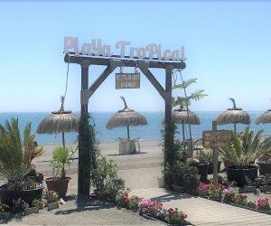 carmen playa tropical malaga