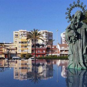 escultura paseo maritimo torre
